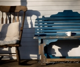 Front porch, Karme Choling Vermont
