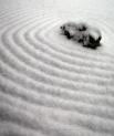 snows on zen garden, Karme Choling Vermont