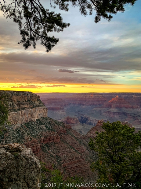Sunset South Rim
